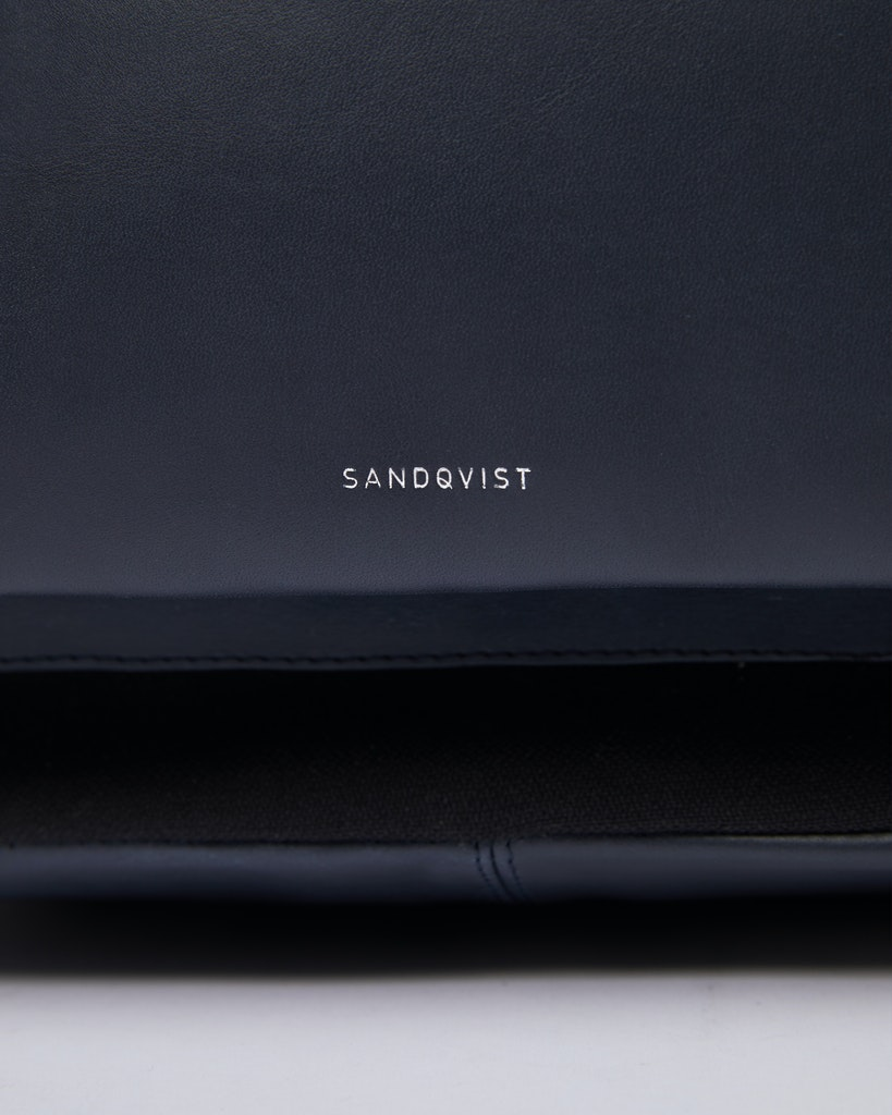 Sandqvist - Backpack - Black - INGVAR TWILL 1