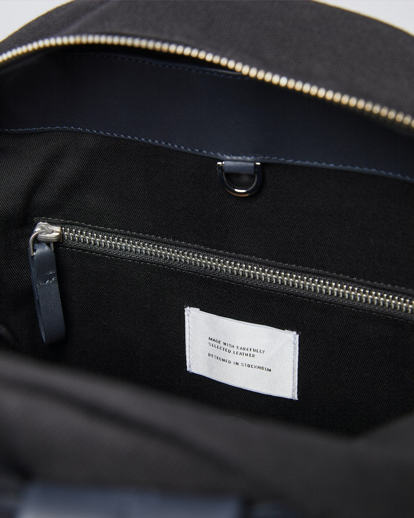 Sandqvist - Backpack - Black - INGVAR TWILL 6