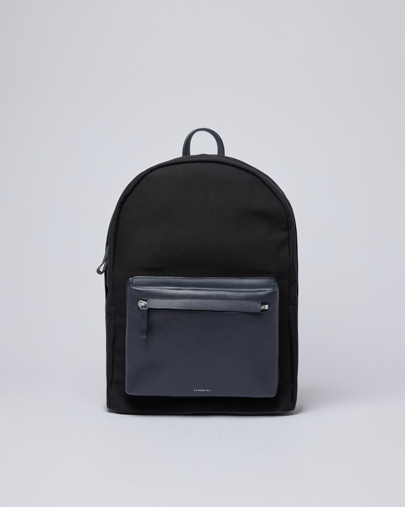 Sandqvist - Backpack - Black - INGVAR TWILL