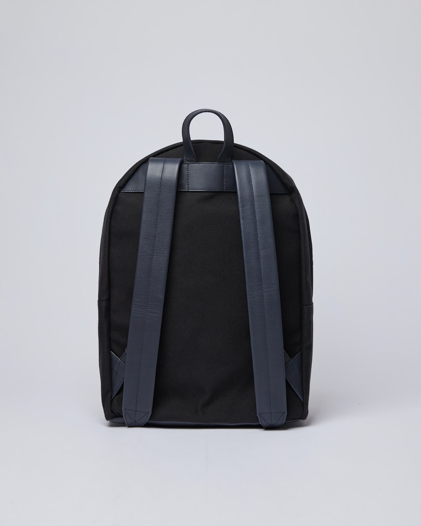 Sandqvist - Backpack - Black - INGVAR TWILL 3
