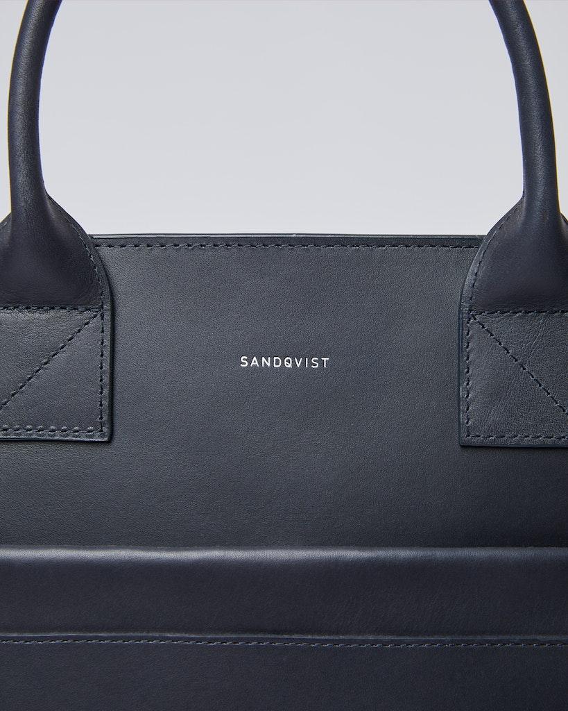 Sandqvist - Tote Bag - Navy - JEFFREY 2
