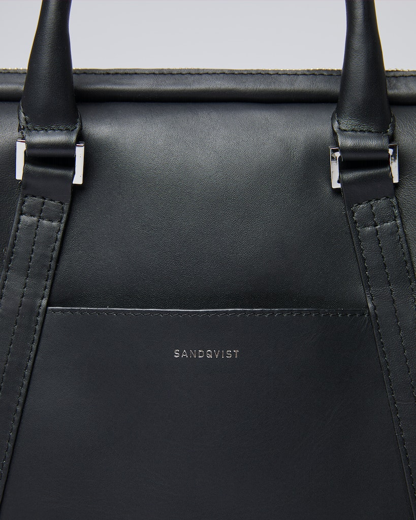 Sandqvist - Briefcase - Black - MELKER LEATHER 2