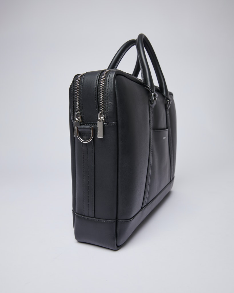 Sandqvist - Briefcase - Black - MELKER LEATHER 3