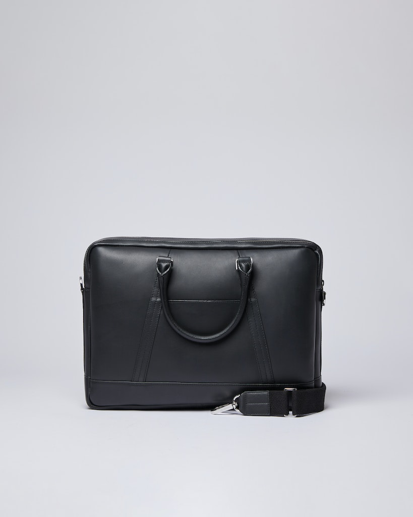 Sandqvist - Briefcase - Black - MELKER LEATHER 1