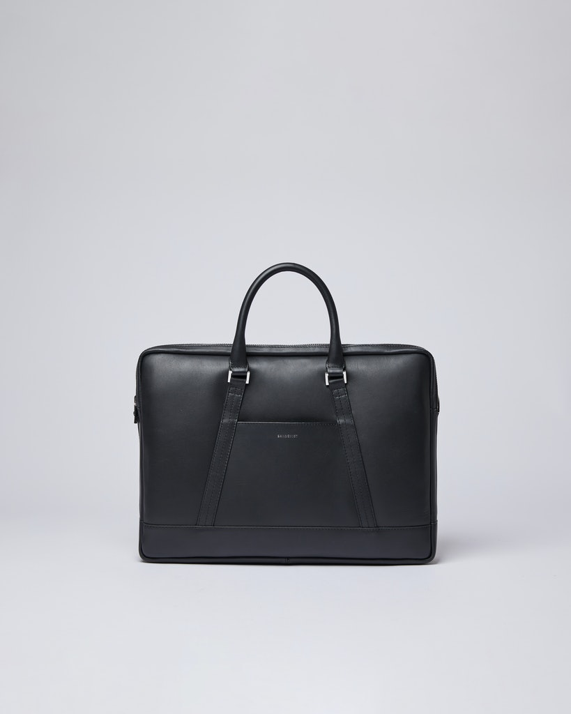 Sandqvist - Briefcase - Black - MELKER LEATHER