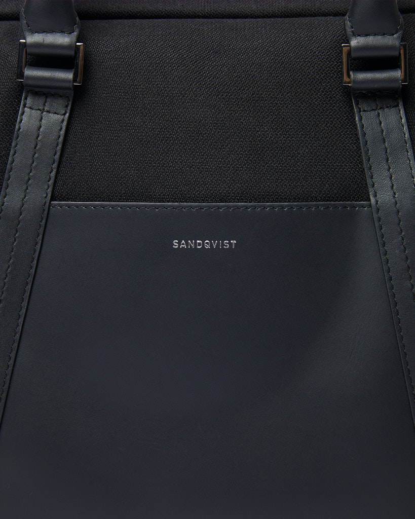 Sandqvist - Briefcase - Black - MELKER TWILL 1