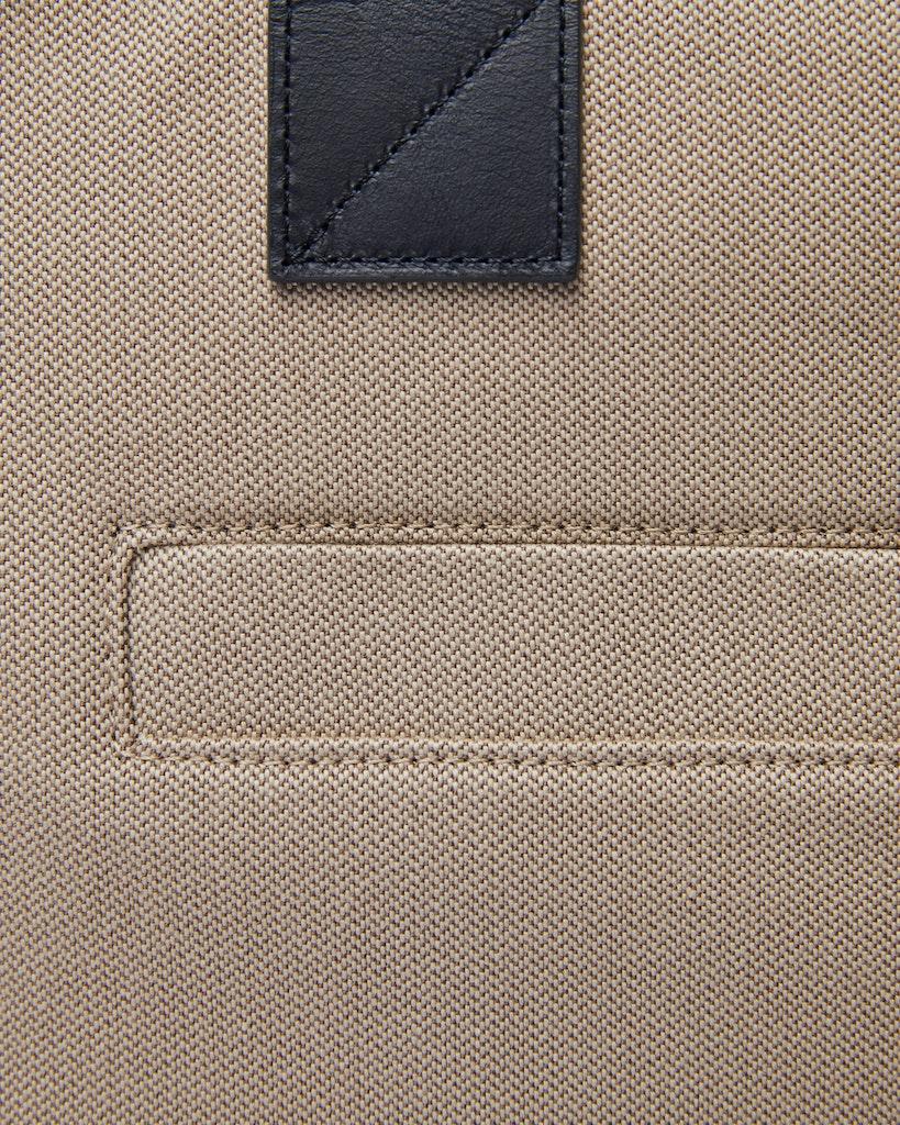 Sandqvist - Briefcase - Navy and Beige - SETH TWILL 4
