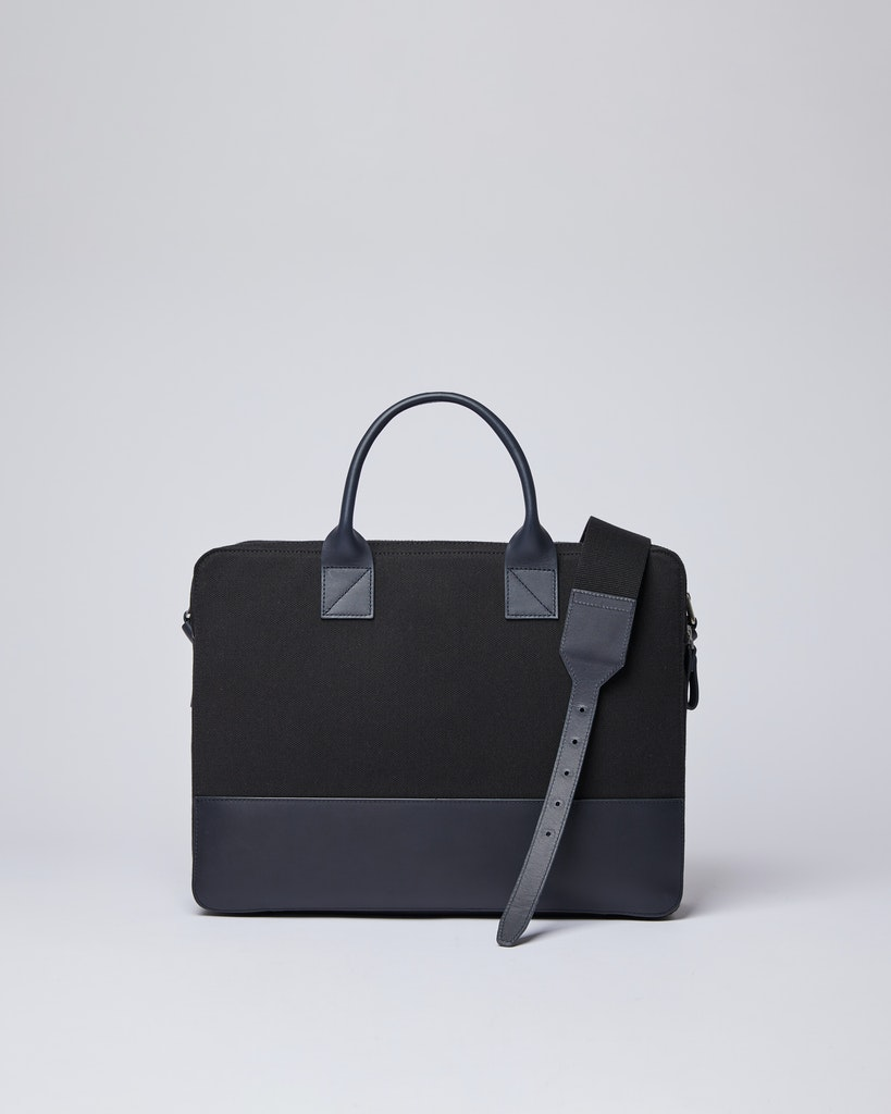 Sandqvist - Briefcase - Black - SETH TWILL 1