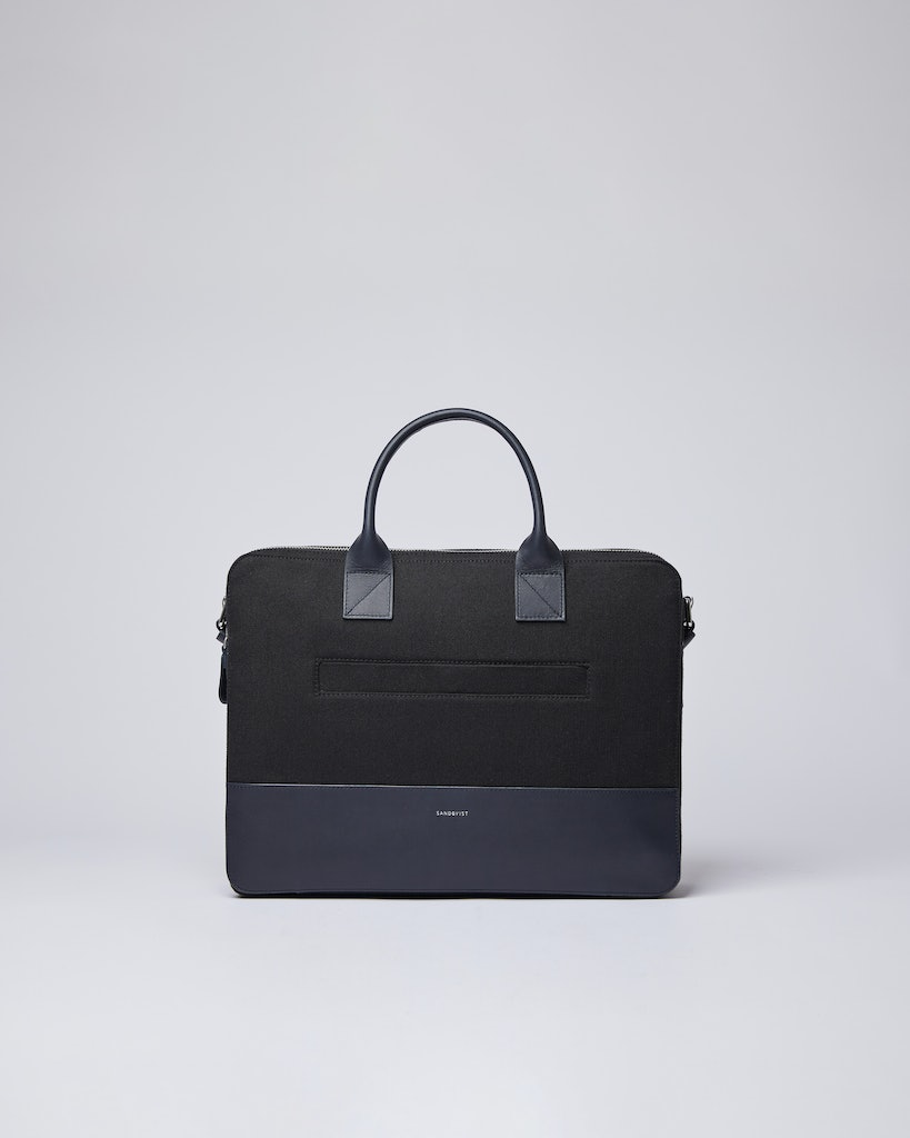 Sandqvist - Briefcase - Black - SETH TWILL