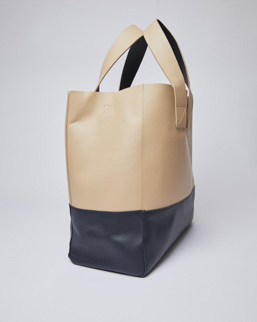 Sandqvist - Tote Bag - Navy and Beige - IRIS 5