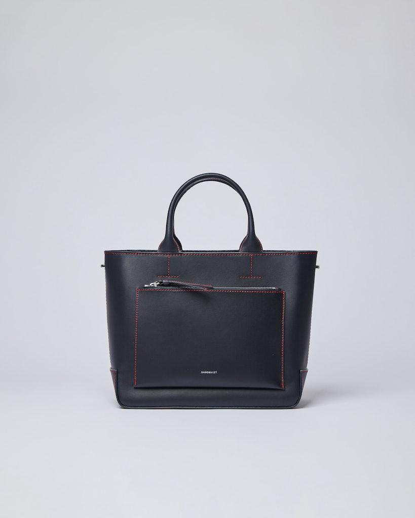 Sandqvist - Tote Bag - Navy - LEA