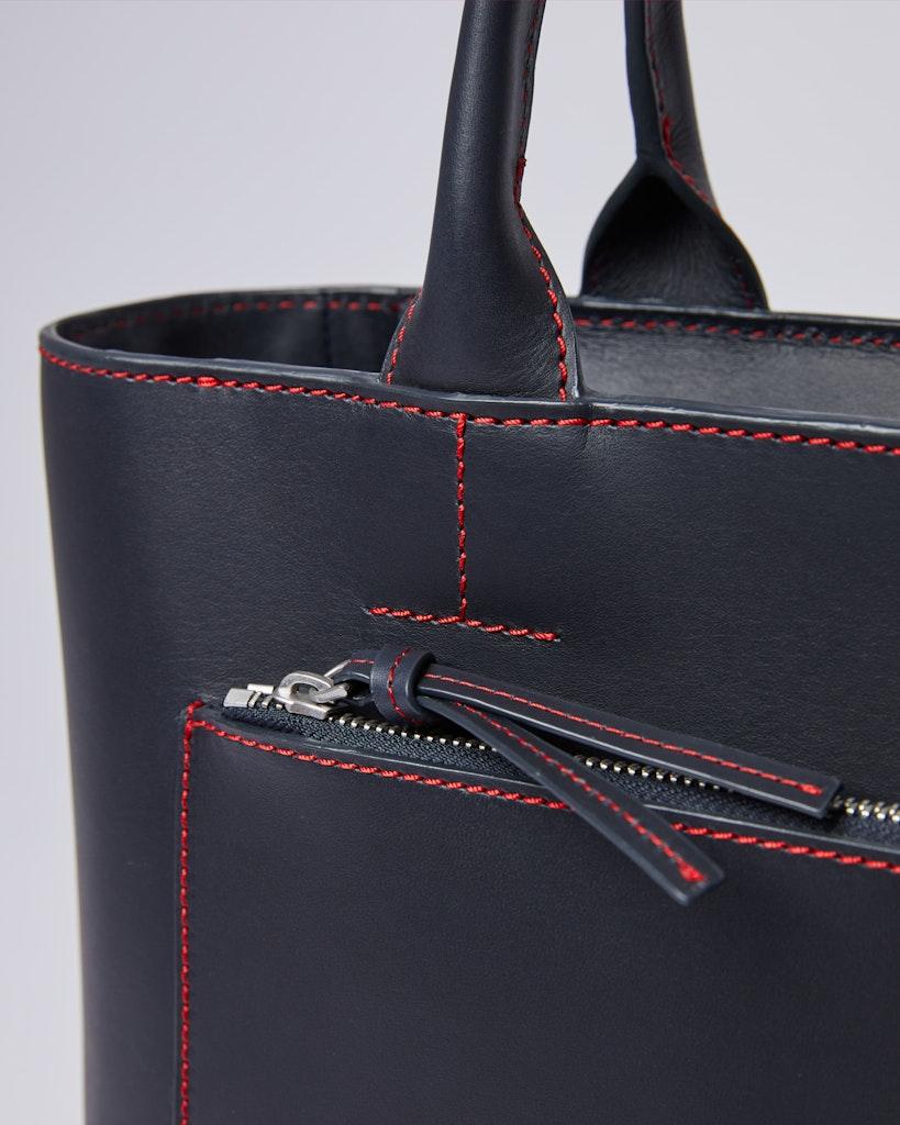 Sandqvist - Tote Bag - Navy - LEA 1