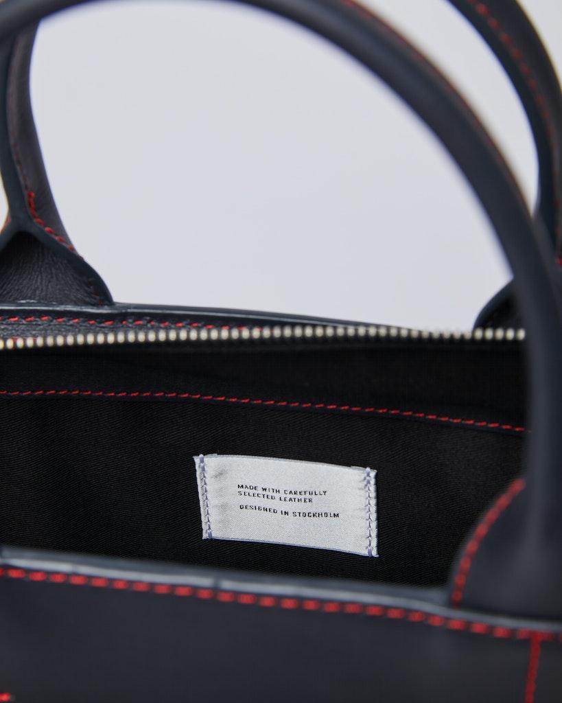 Sandqvist - Tote Bag - Navy - LEA 4