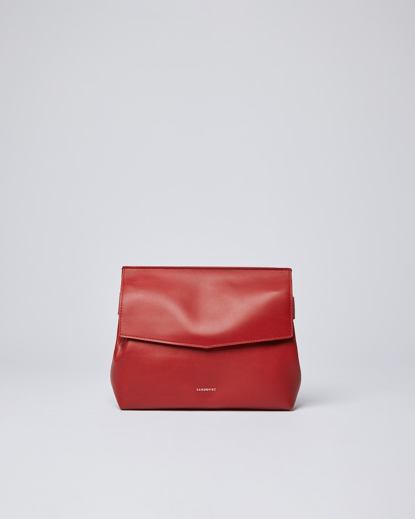 Sandqvist - Shoulder Bag - Red - SIGNE