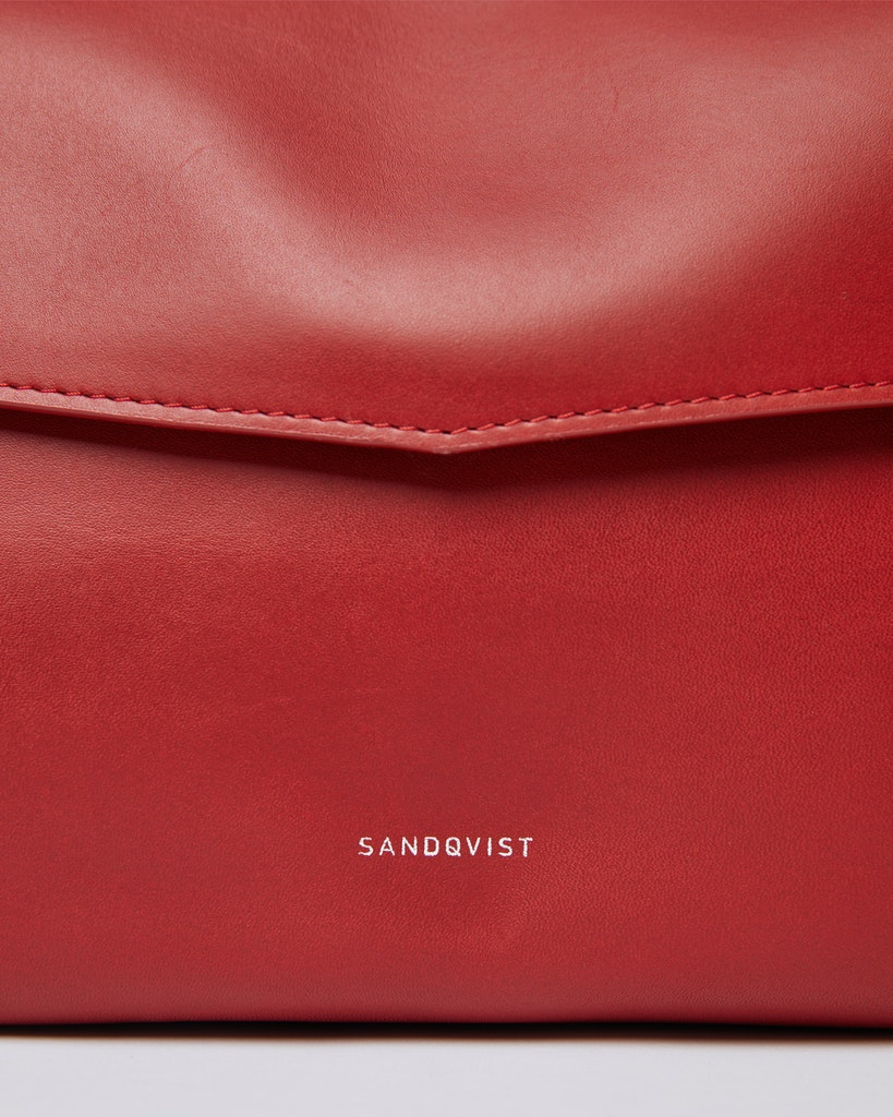 Sandqvist - Shoulder Bag - Red - SIGNE 2