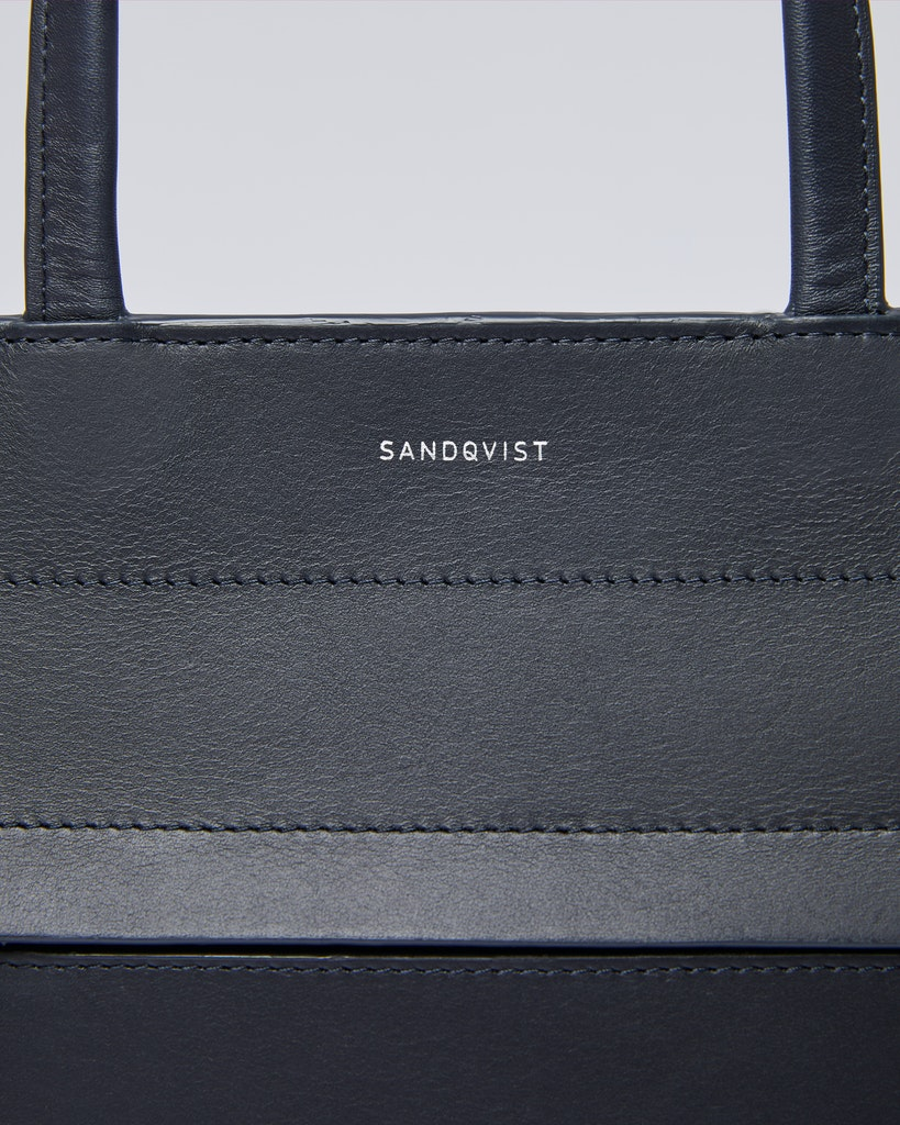 Sandqvist - Tote Bag - Navy - STINA 2