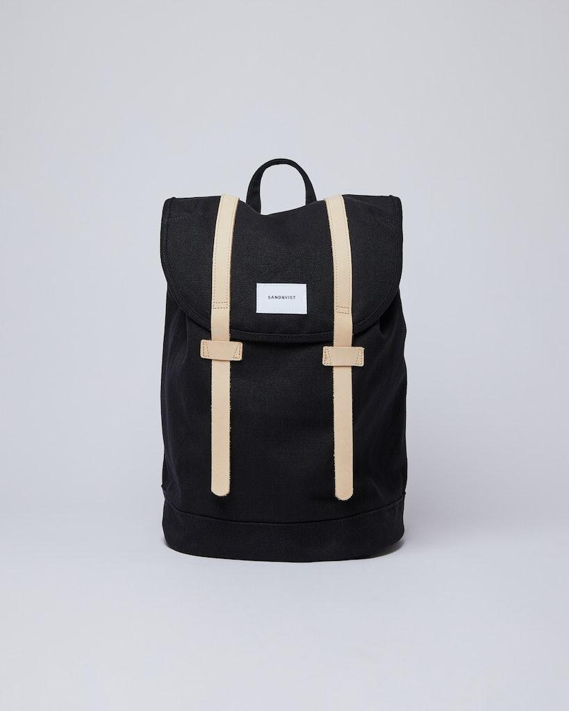 Sandqvist - Backpack - Black - STIG
