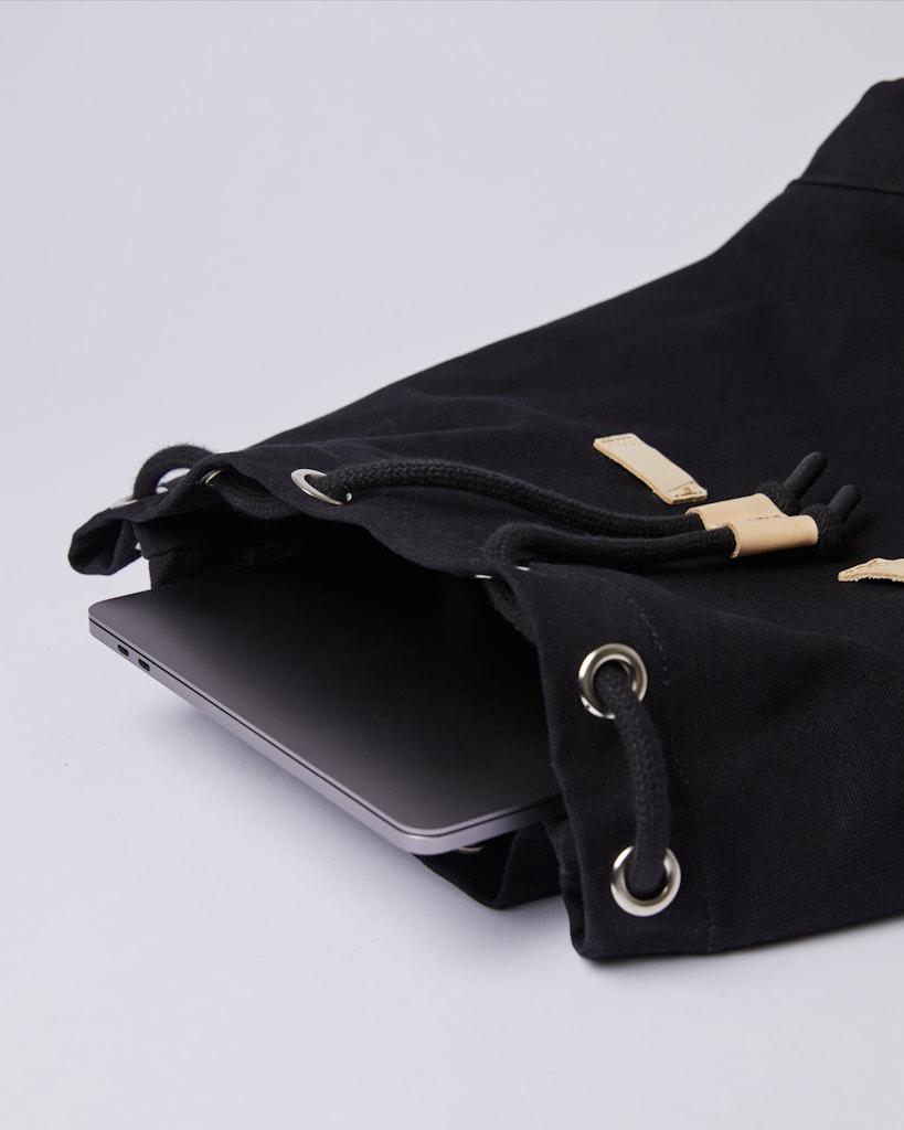 Sandqvist - Backpack - Black - STIG 5