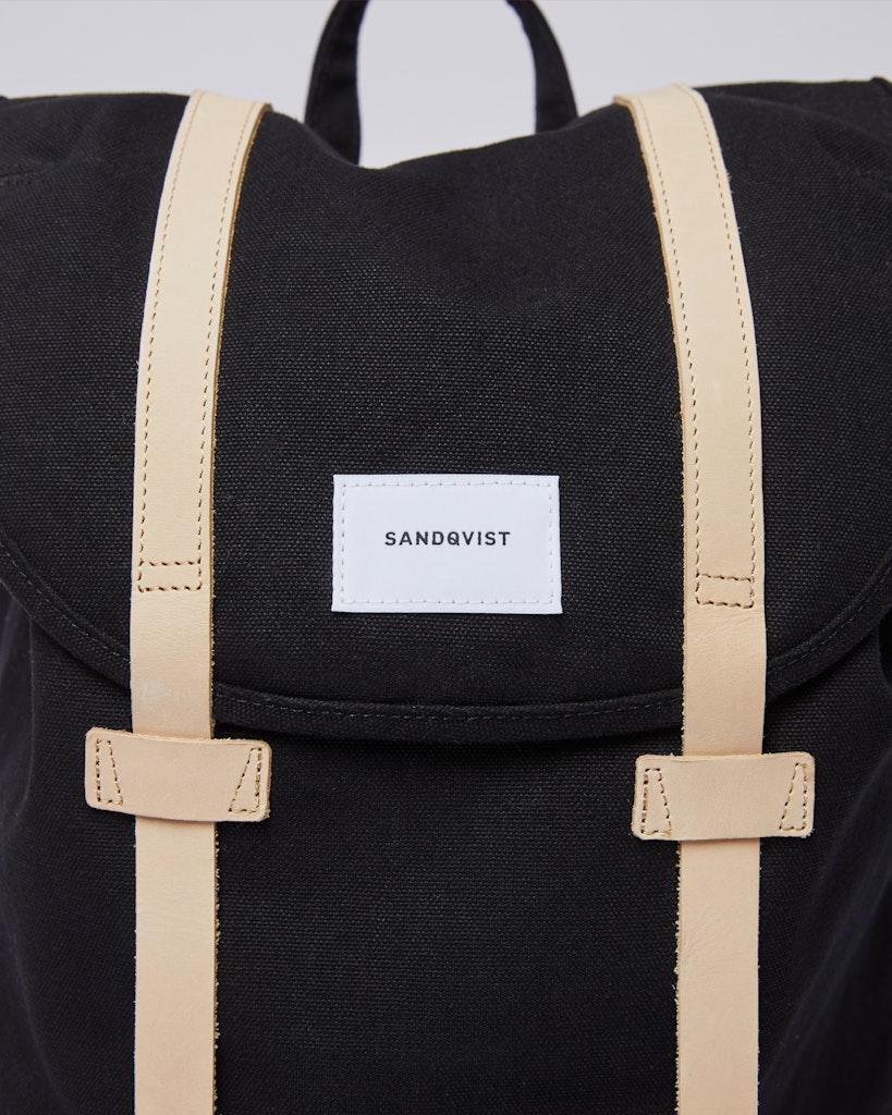 Sandqvist - Backpack - Black - STIG 2