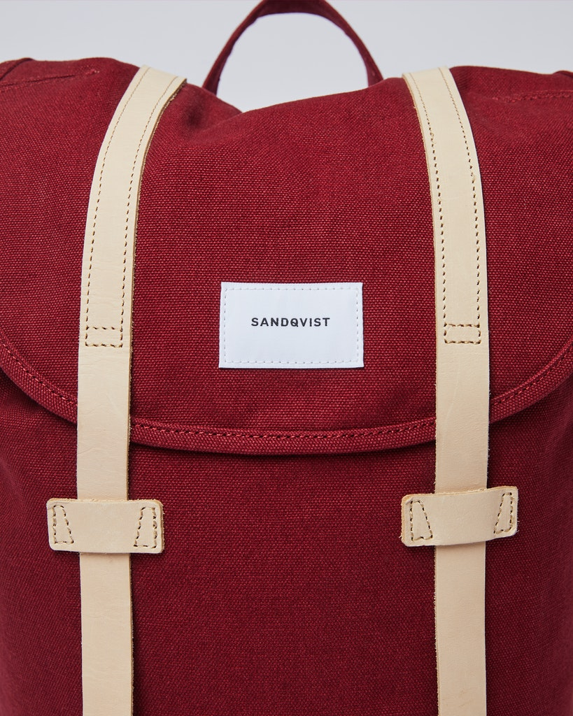 Sandqvist - Backpack - Red - STIG 1