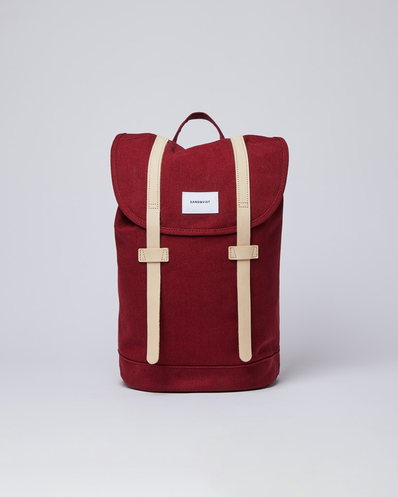 Sandqvist - Backpack - Red - STIG