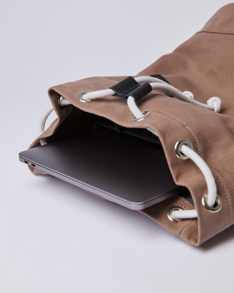 Sandqvist - Backpack - Brown - STIG 4