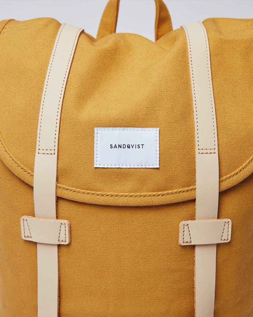 Sandqvist - Backpack - Yellow - STIG 1