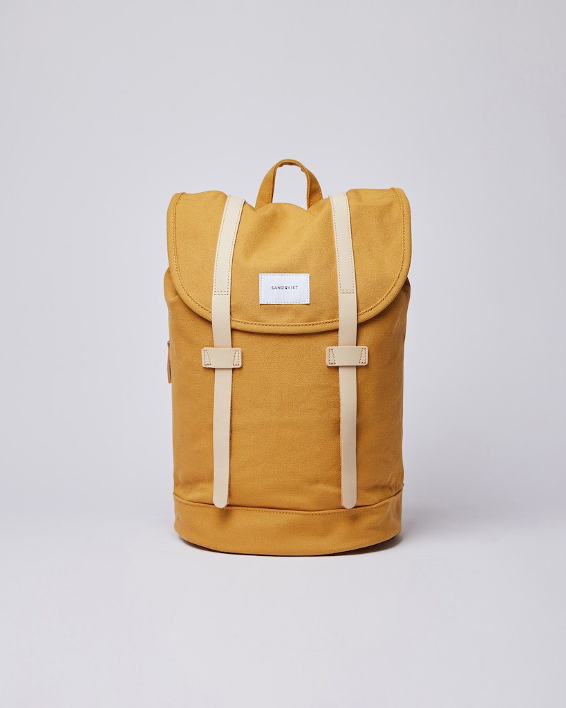 Sandqvist - Backpack - Yellow - STIG