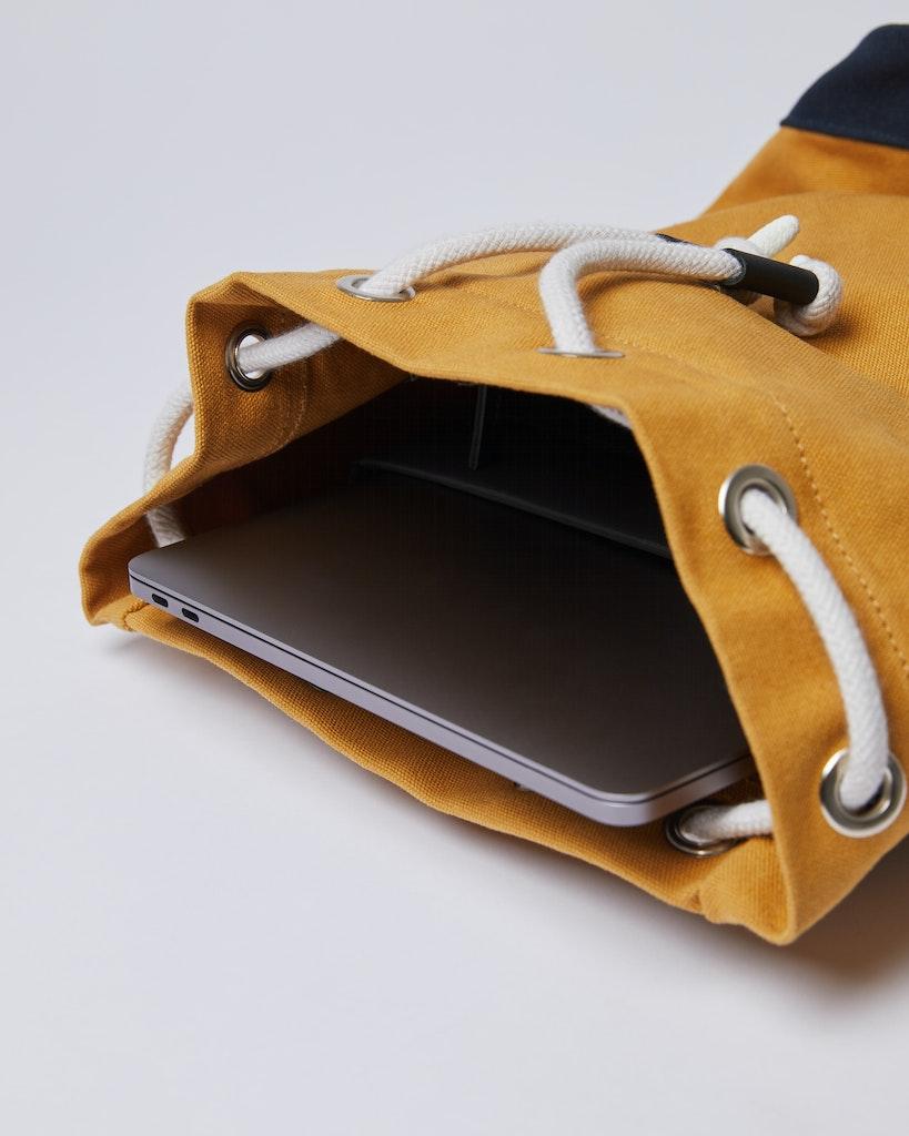Sandqvist Stig - Classic durable canvas backpack 4