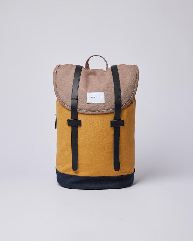 Sandqvist Stig - Classic durable canvas backpack