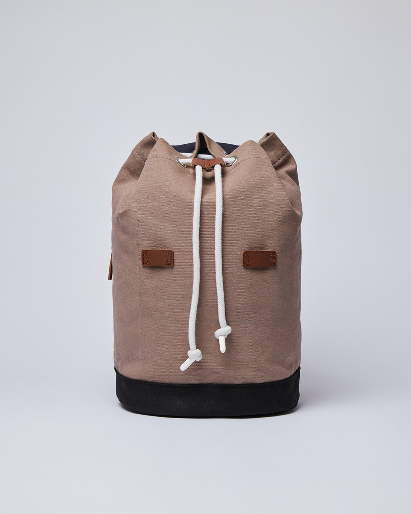 Sandqvist - Backpack - Navy and Brown - STIG 4