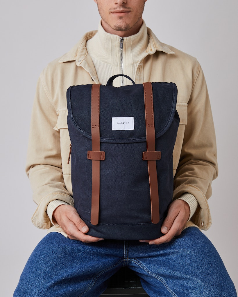 Sandqvist - Backpack - Navy - STIG 4