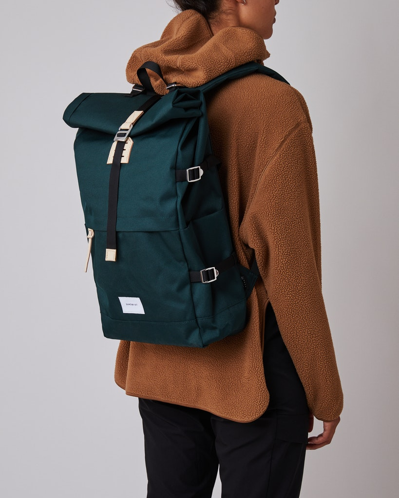 Sandqvist - Backpack - Green - BERNT 2