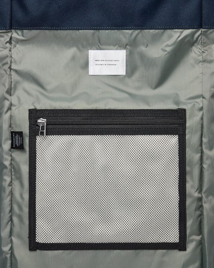 Sandqvist - Backpack - Navy - BERNT 4
