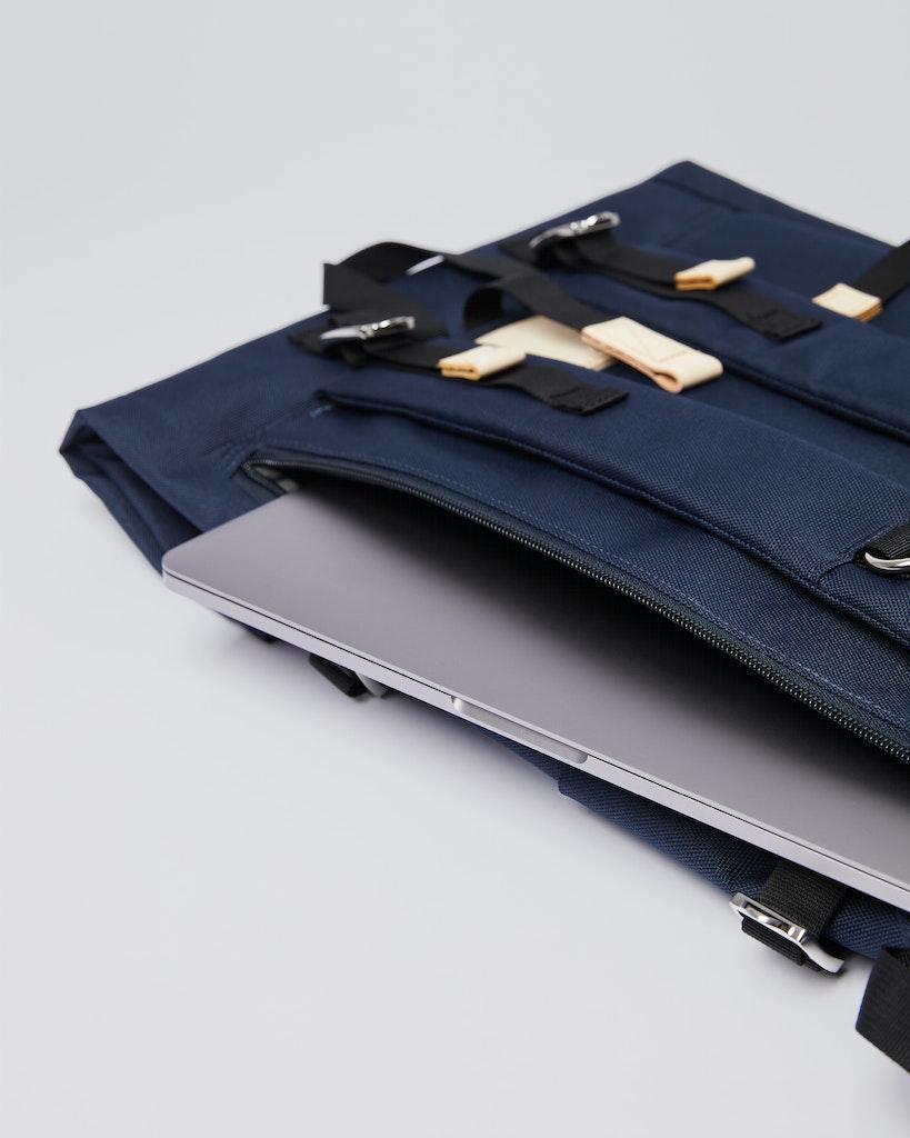 Sandqvist - Backpack - Navy - BERNT 1