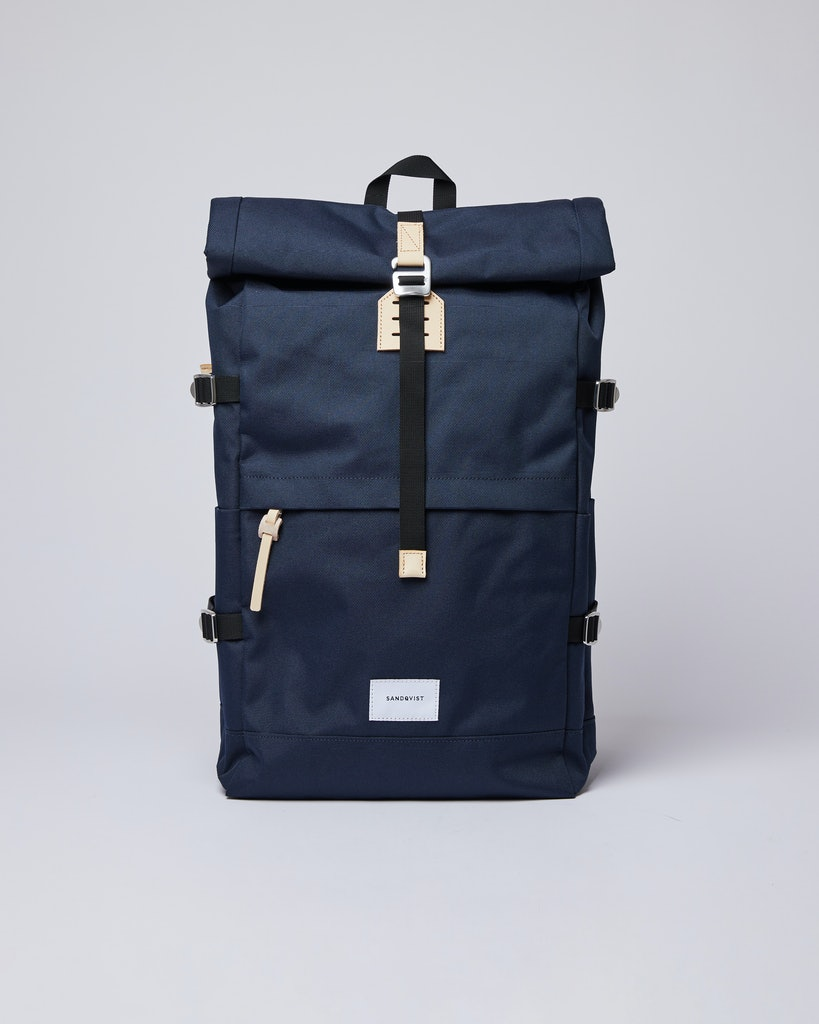 Sandqvist - Backpack - Navy - BERNT