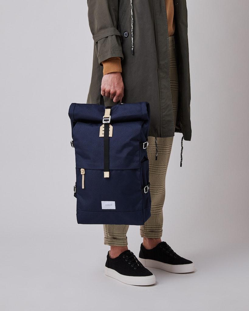 Sandqvist - Backpack - Navy - BERNT 2
