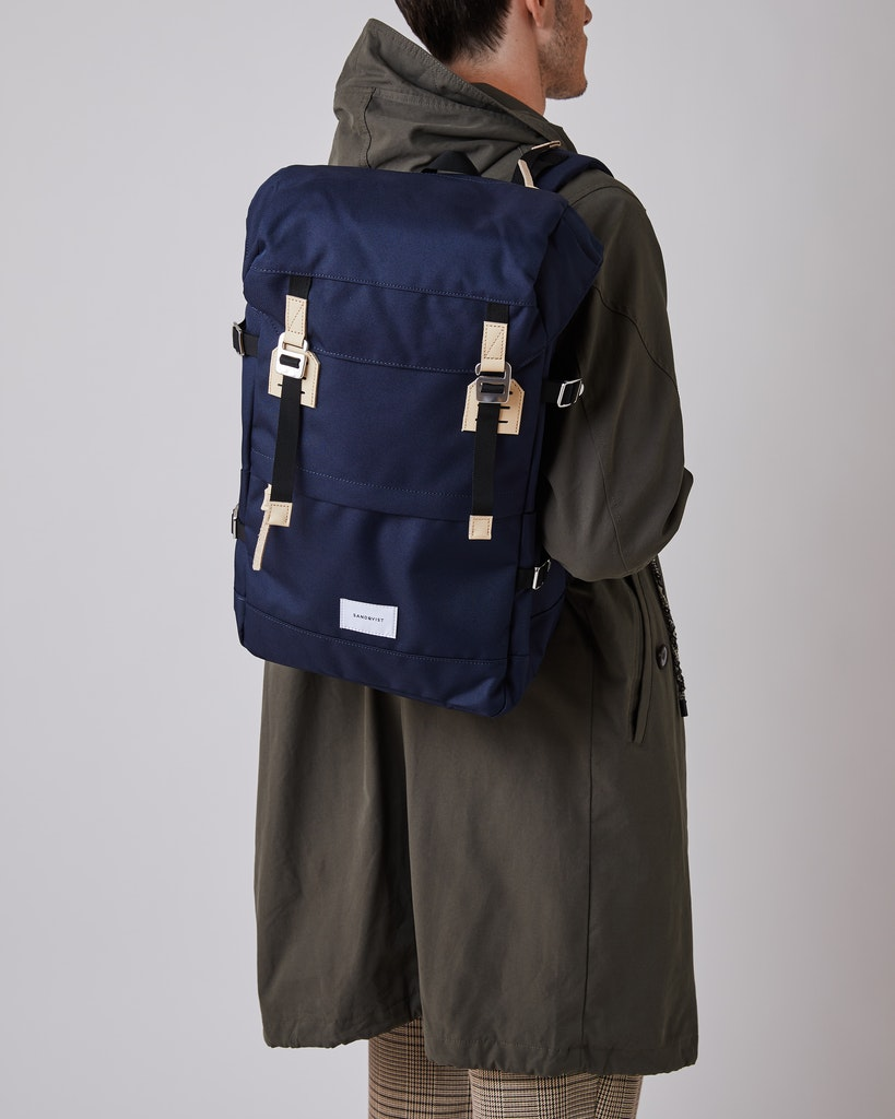 Sandqvist - Backpack - Navy - HARALD 2