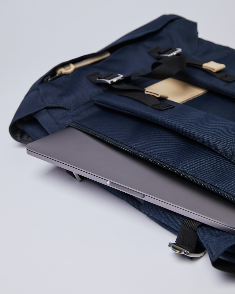 Sandqvist - Backpack - Navy - HARALD 5