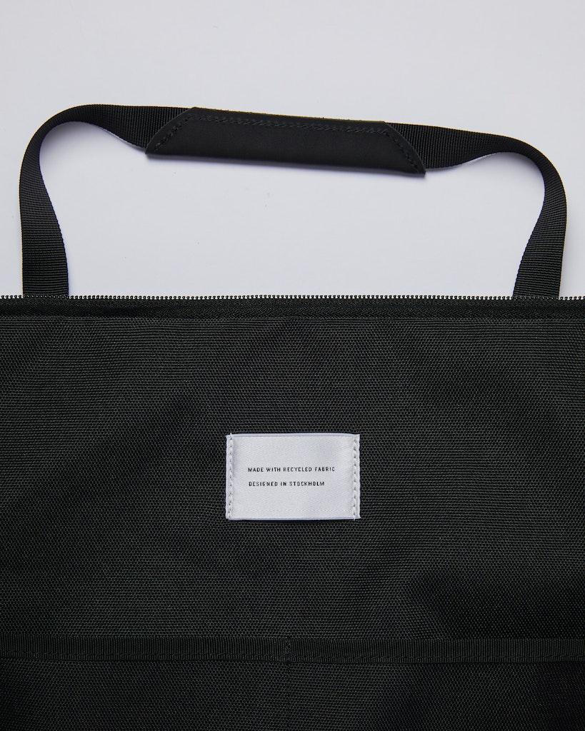 Sandqvist - Weekend Bag - Black - MILTON 1
