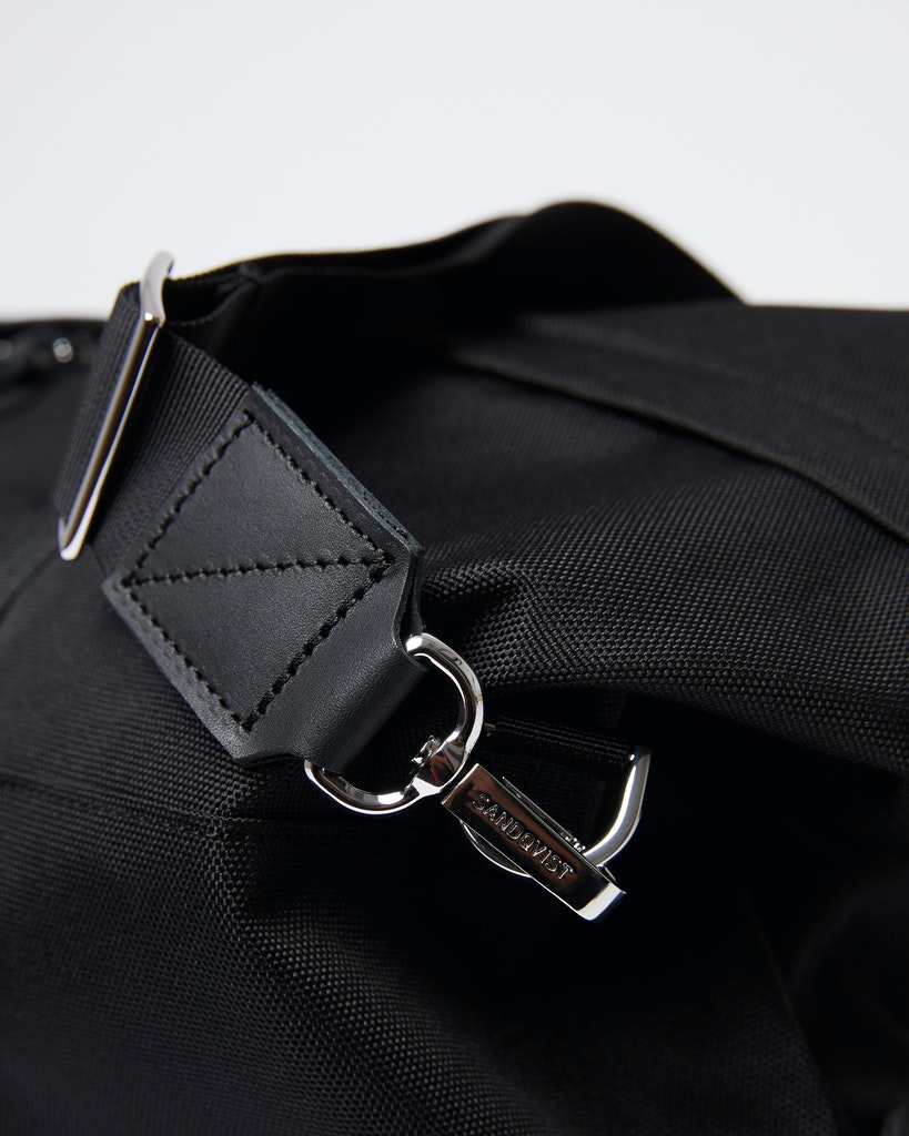 Sandqvist - Weekend Bag - Black - MILTON 5