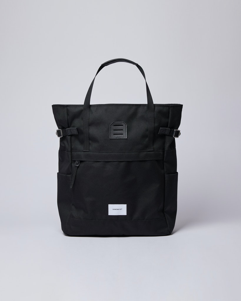 Sandqvist - Backpack - Black - ROGER