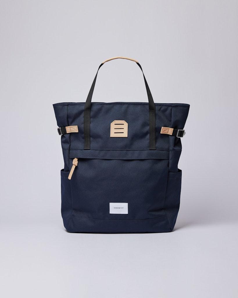 Sandqvist - Backpack - Navy - ROGER
