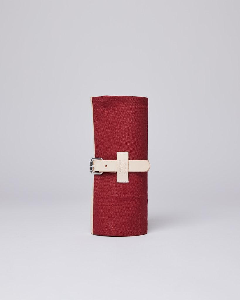 Sandqvist - Knife Roll - Röd - LAJTJENN SET 2