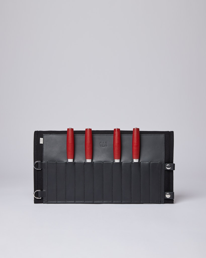 Sandqvist - Knife Roll - Black - OGSKER SET