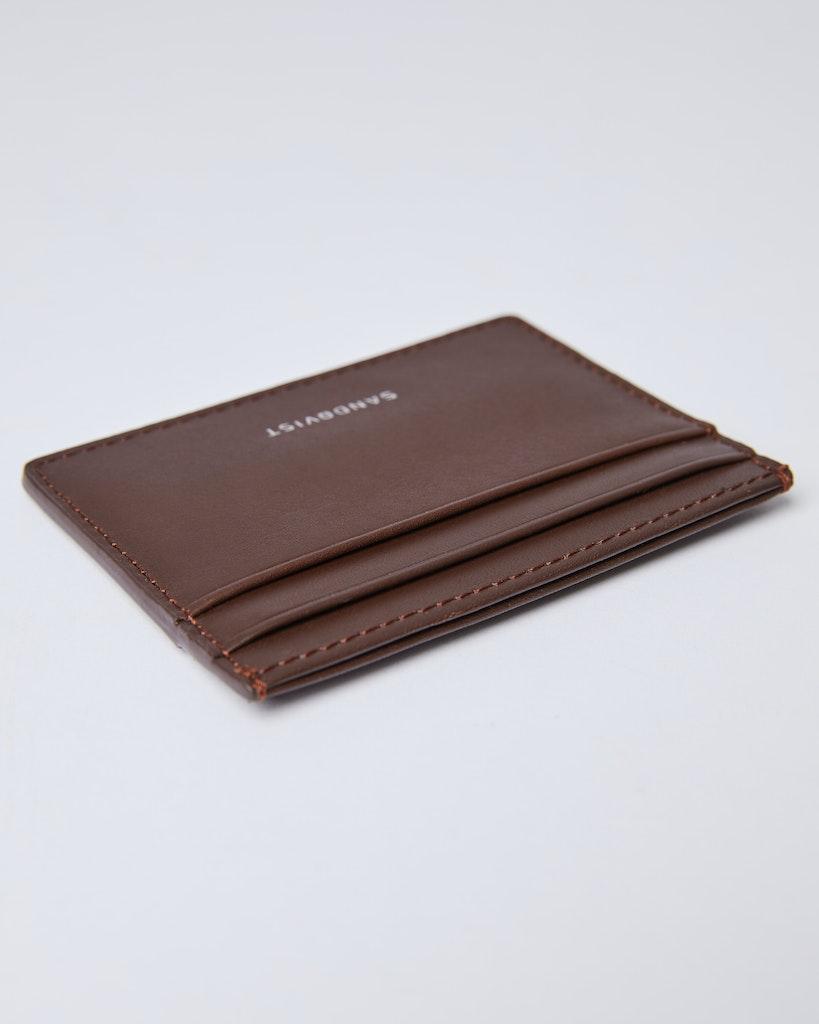Sandqvist - Card Holder - Brown - FRED 1