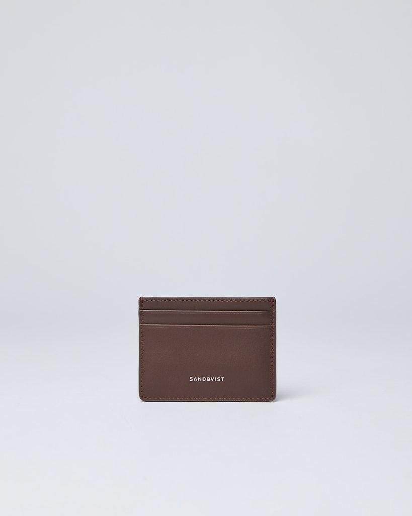 Sandqvist - Card Holder - Brown - FRED