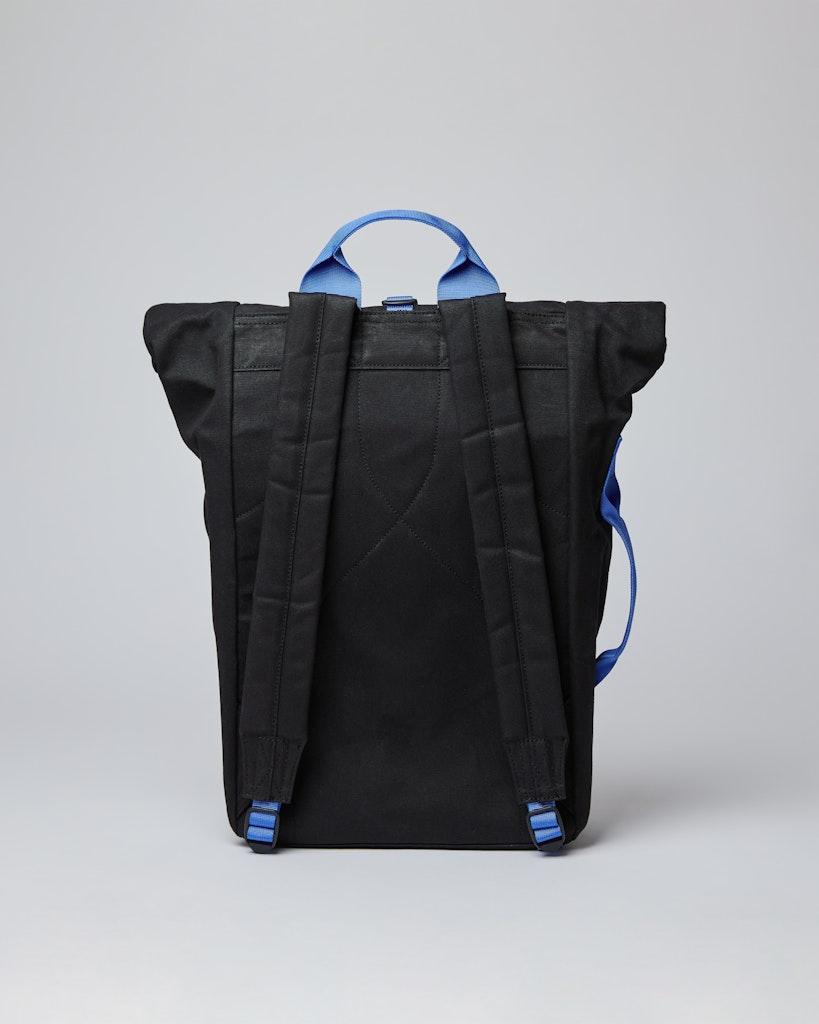 Sandqvist - Backpack - Black - DANTE METAL HOOK 1