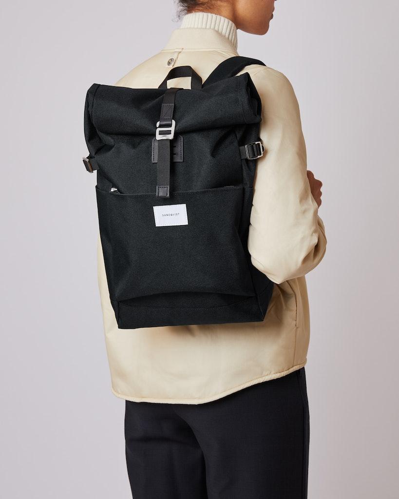 Sandqvist - Backpack - Black - ILON 2