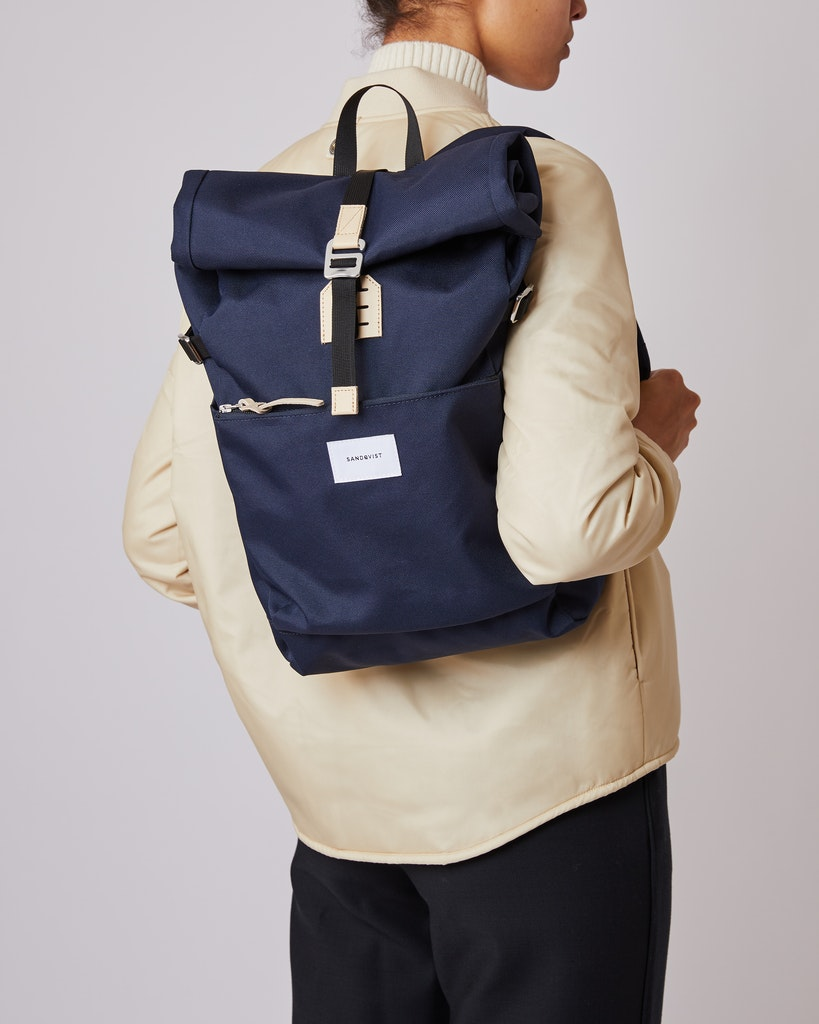 Sandqvist - Backpack - Blue - ILON 2